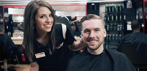 Sport Clips Haircuts of New Market Square Haircuts