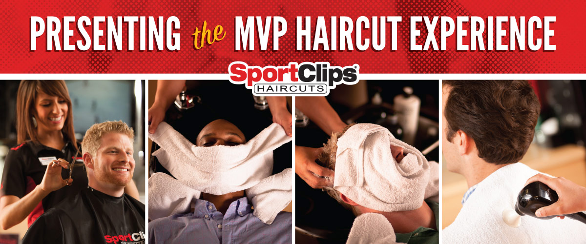 The Sport Clips Haircuts of New Market Square MVP Haircut Experience
